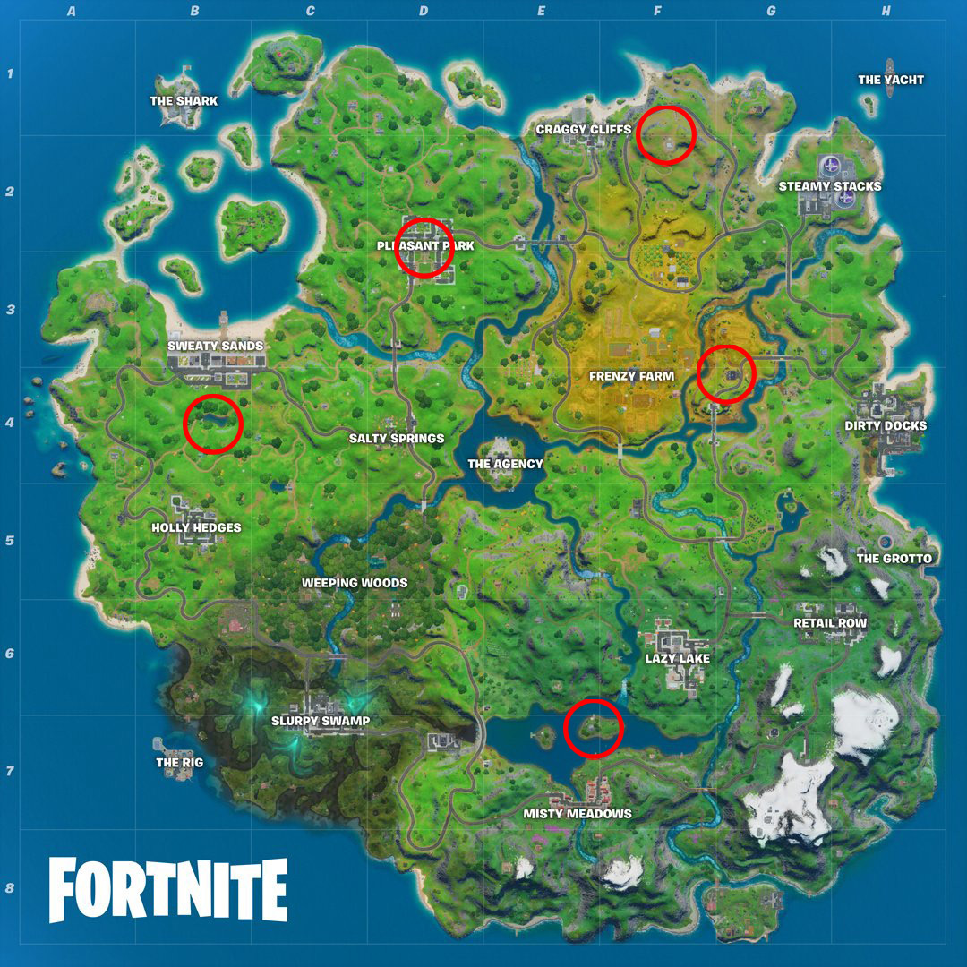Fortnite Shadow Safe Houses Where To Go To Beat Those Storms In The Agency Challenges Finance Rewind