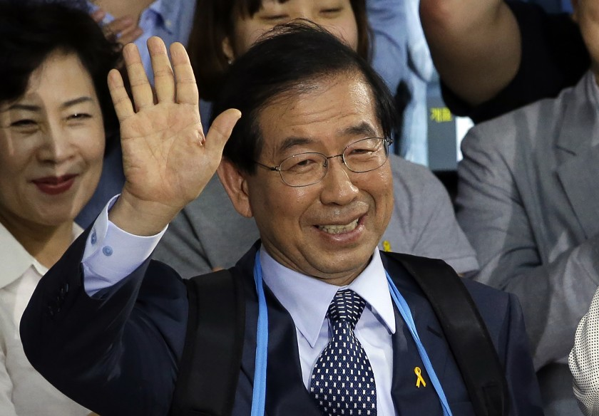 Park Won-soon, outspoken mayor of Seoul, found dead