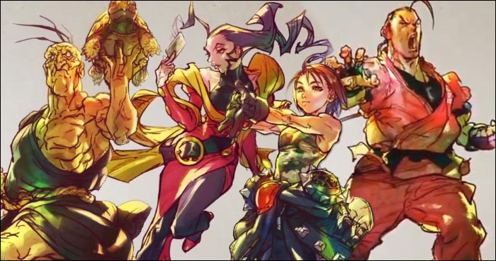 Street Fighter 5 4 New Dlc Characters Revealed All Details Here
