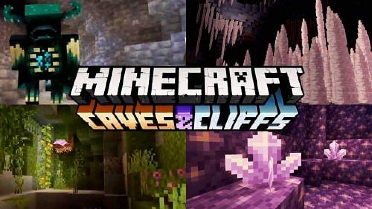 Minecraft 10.107 Caves & Cliffs Update Will Be Released In 100