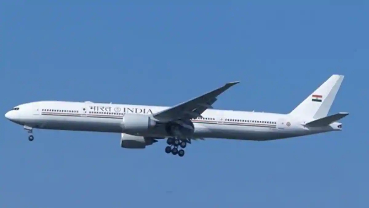 Boeing 777 aircraft