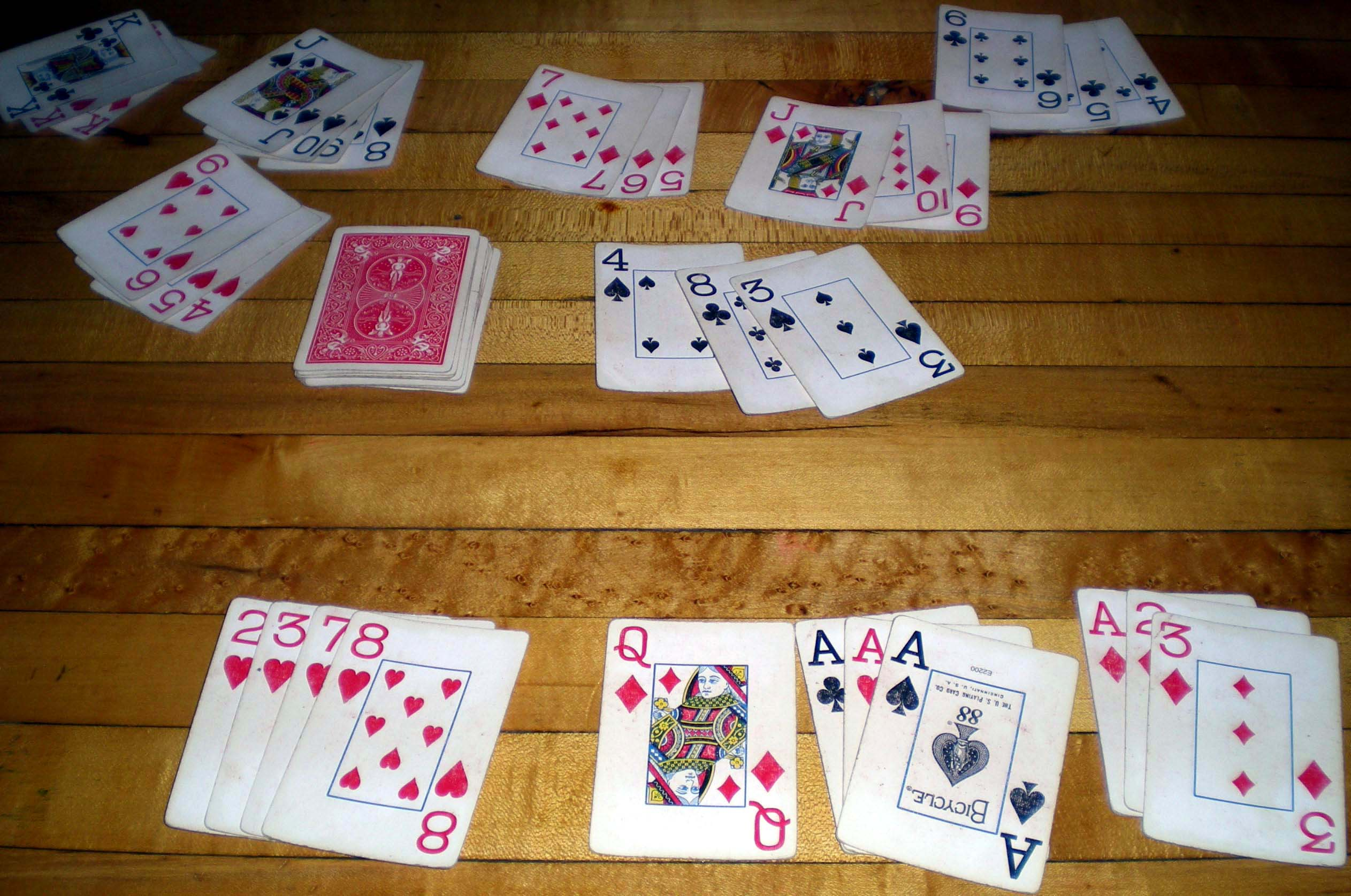 game of rummy